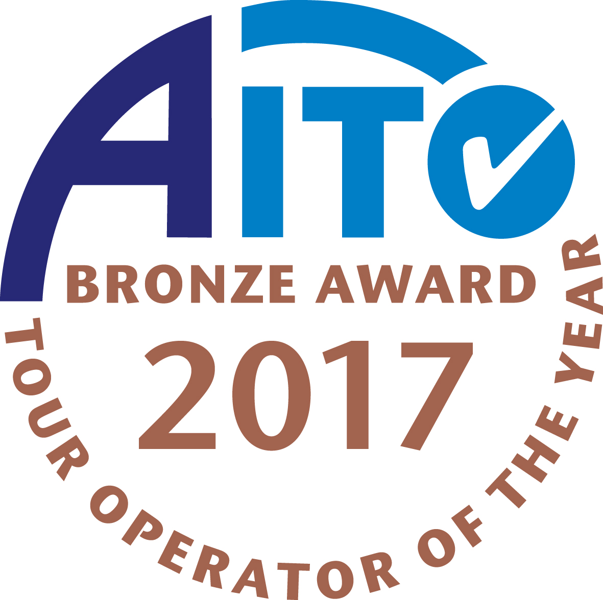 AITO Tour Operator of the Year 2017 - Bronze Award