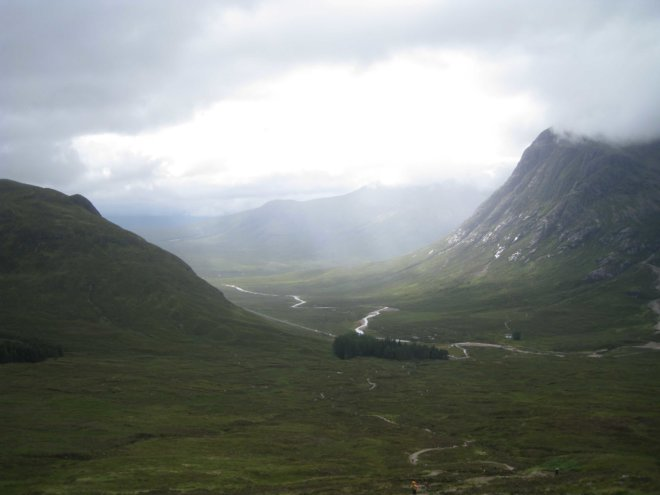 Glencoe from Devil's Staircase (credit - Cesare Targher)